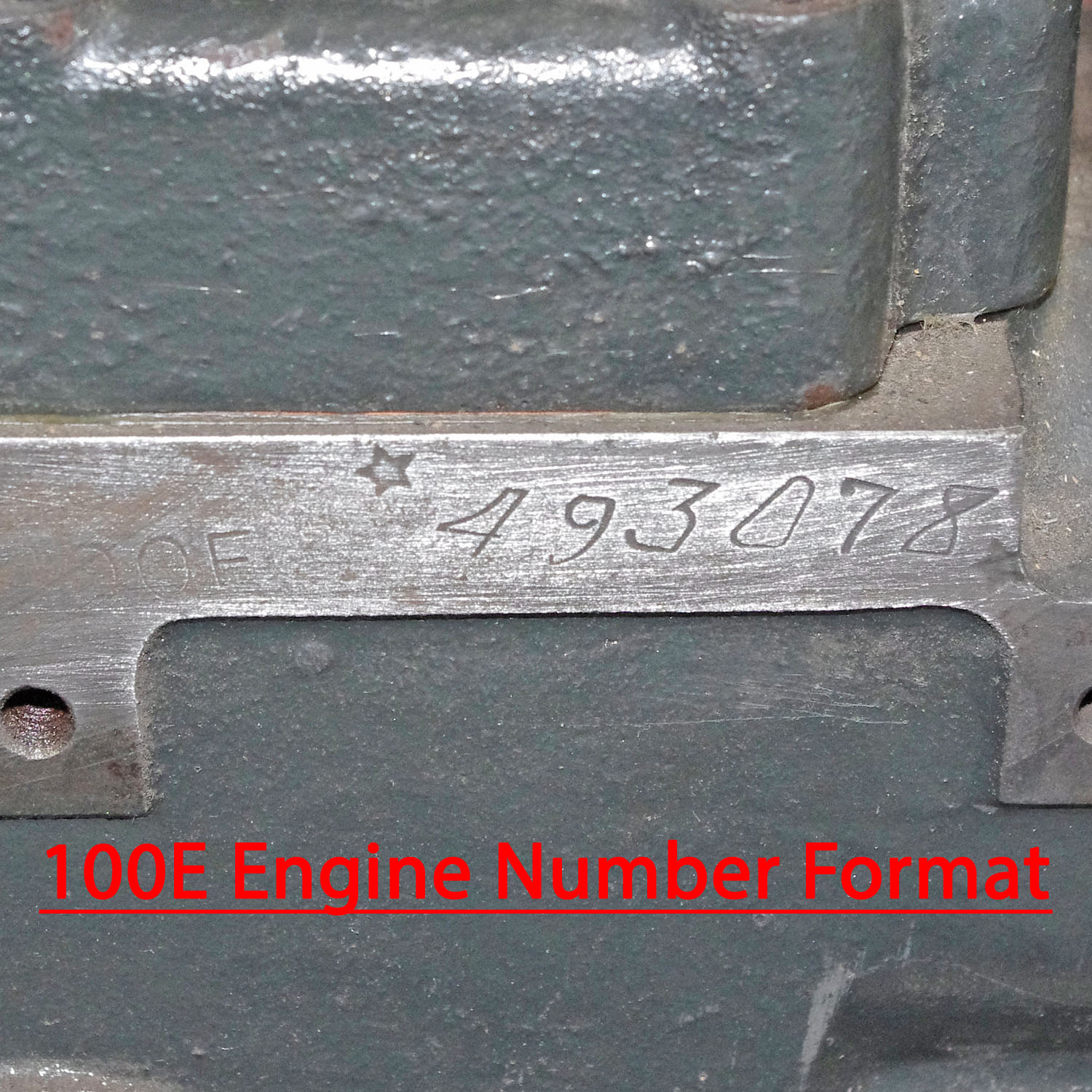 Engine & Chassis Numbers | Complete Automobilist