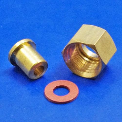 Oil pressure pipe end fitting fittings taps