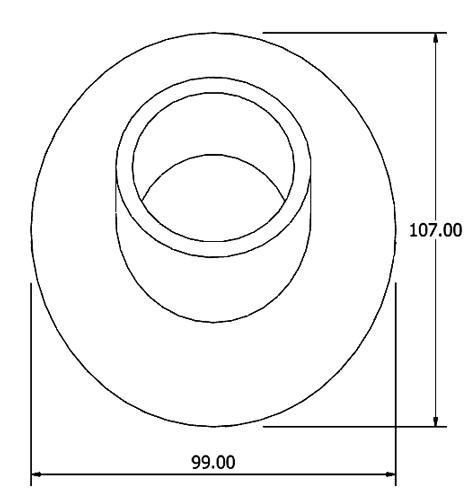 84404 Fuel Filler Grommet Rubber Mouldings Coachbuild