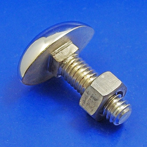 oval head bumper bolt