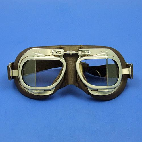 leather Mk9 motoring goggle